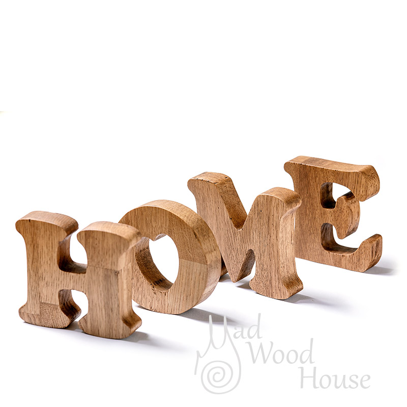 Letters word HOME