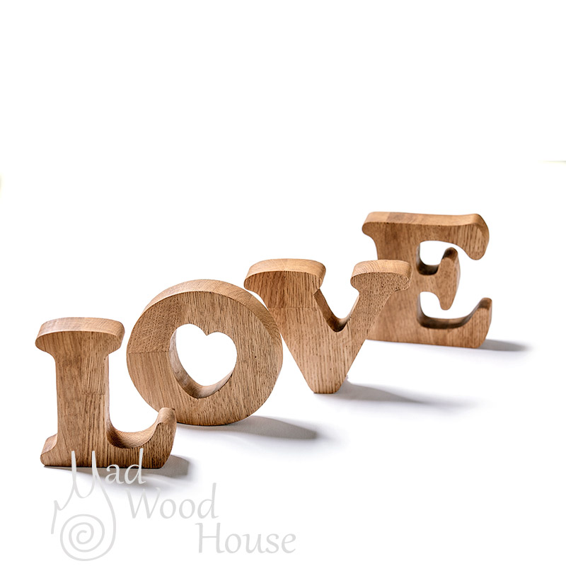Letters word LOVE